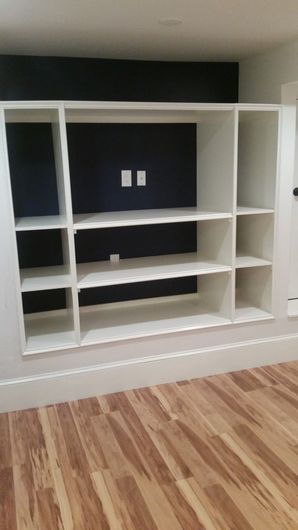 Shelf in West Roxbury MA installed by J. Mota Services