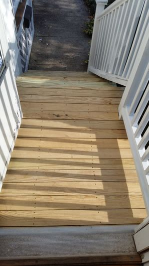 Front Steps Repaired in Medford, MA (3)