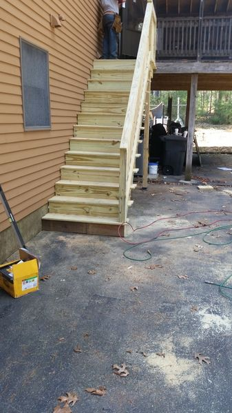 Before & After Deck Staircase in Medford, MA (3)